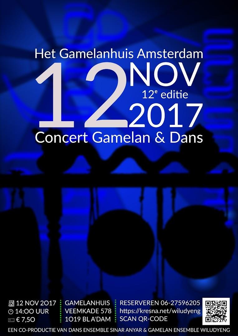12e editie Concert Gamelan en Dans