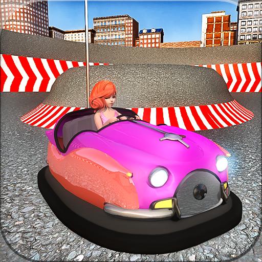 Bumper course simulation race: driving games