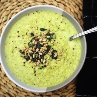 Creamy Broccoli and Coconut Soup.