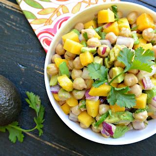 Tropical Chickpea Salad.