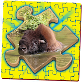 Simple Jigsaw Puzzle - Zoo