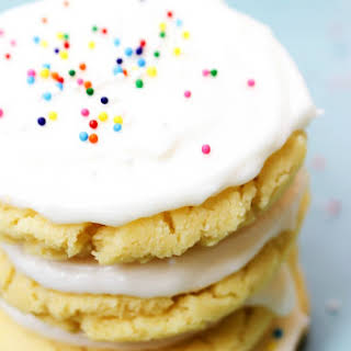 Frosted Sugar Cookie.