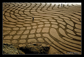 Photo: 'Warped Fields', Ocean Beach, CA.