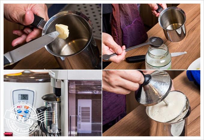 客萊絲鐵板燒防彈咖啡製作方法