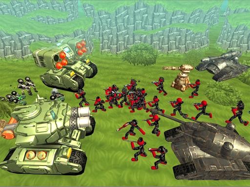 Stickman Tank Battle Simulator 1.06 screenshots 8