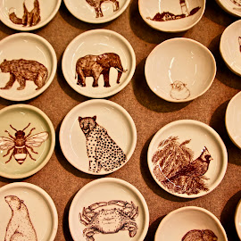 by Joe Rahal - Artistic Objects Cups, Plates & Utensils