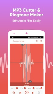 MP3 Cutter - Ringtone Maker And Audio Editor Screenshot