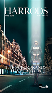 Harrods Magazine - screenshot thumbnail