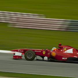 Need for Speed by Soumyajit Sarcar - Sports & Fitness Motorsports ( #sepang, #speed, #f1, #thrill, #team_ferarri )