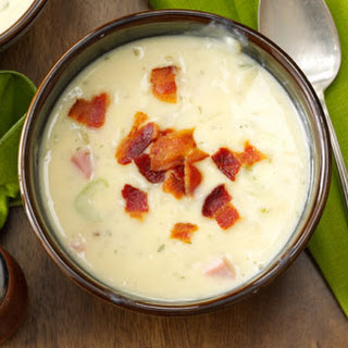 Hearty Hash Brown Soup.