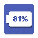 Floating battery icon