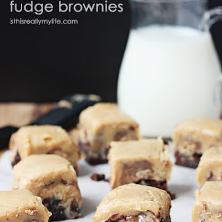Peanut Butter Fudge Brownies Recipe