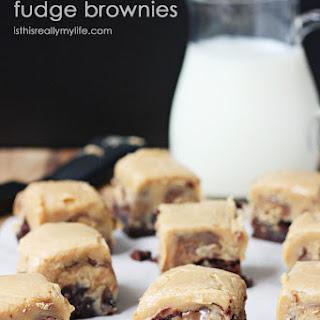 Peanut Butter Fudge Brownies.