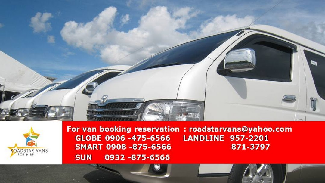 94c9177885502b Roadstar Vans For Hire (Van for Rent Manila Philippines) - Van ...