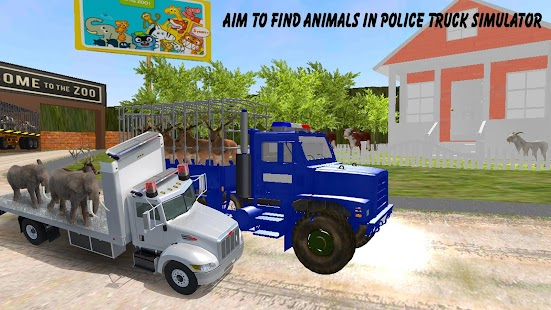 Police Truck Animals Transport- screenshot thumbnail