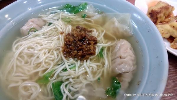 台中富子江家餛飩@西區捷運BRT科博館 : 湯鮮味美好食在,連我媽都願意吃!