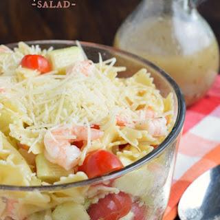 Shrimp Pasta Salad With Italian Dressing Recipes.