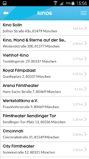 kinoradar - Kino, Filme & mehr 3.2.2 screenshots 7