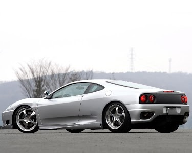 Themes Ferrari 360 screenshot 4