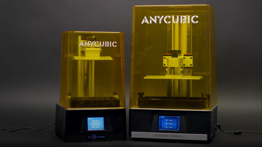 Buy one Anycubic Photon Mono X or three Anycubic Photon Monos, the choice is yours.