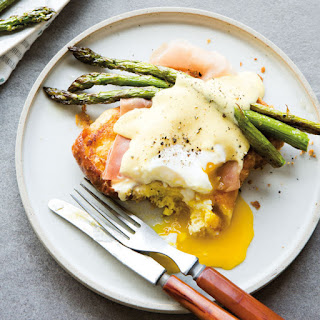 Parmesan French Toast with Blender Hollandaise