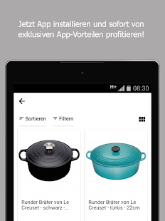 Küchen-Fee Online-Shop- screenshot thumbnail