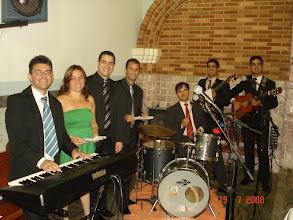 Photo: Tocando junto com a Banda Saraf no casamento do meu irmão Mateus dia 19/07/2008 em São Sebastião do Sacramento de Manhuaçu-MG.