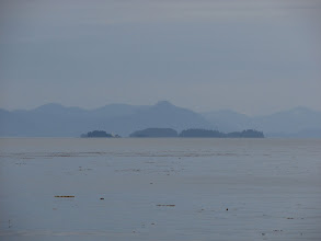 Photo: The Five Fingers Islands in Stephens Passage.