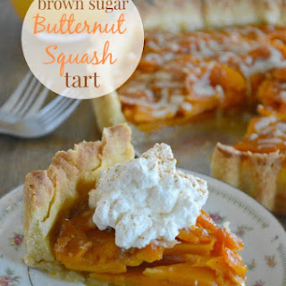 Brown Sugar Butternut Squash Tart