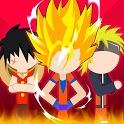 Super Stick Fight All-Star Hero: Chaos War Battle icon