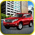 luxe prado jeep gratuit conduire icon
