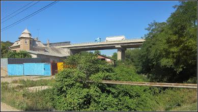 Photo: Str. Cheii - pod si Str. Alba Iulia peste Paraul Sandulesti - 2017.07.18