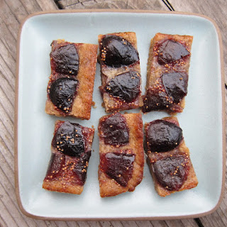 Whiskey Fig Browned Butter Bars