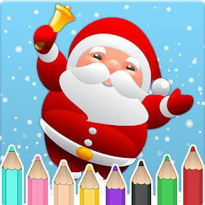 Kids coloring book christmas for PC and MAC