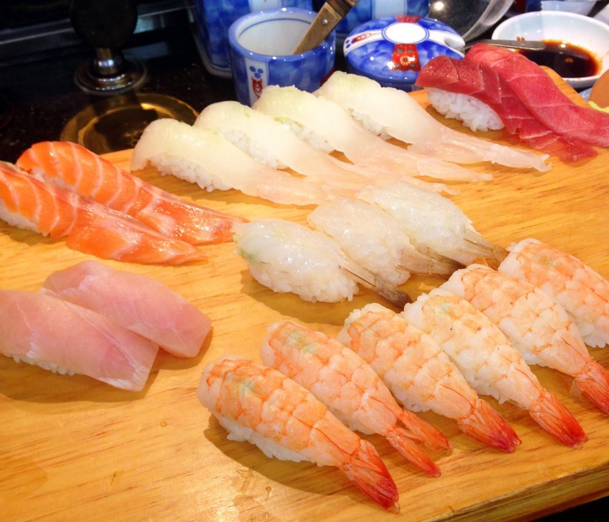 ime dish food seafood fish cuisine delicious shrimp asian food sushi sashimi japanese salmon tuna side dish japanese