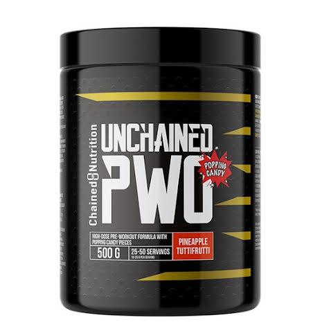 Unchained PWO 500g - Pineapple Tuttifrutti