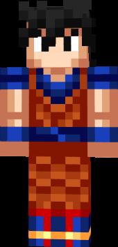 Goku Skin Nova Skin - Skin para minecraft pe goku