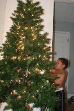 Photo: We let the kids put on all the ornaments this year