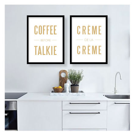 PARPOSTERS/DUOPACK COFFE AND CREME
