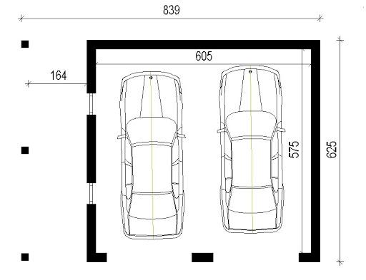 AD-G3.11 - Rzut garażu