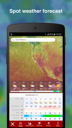 Windy: wind, waves and hurricanes forecast  screenshots 3