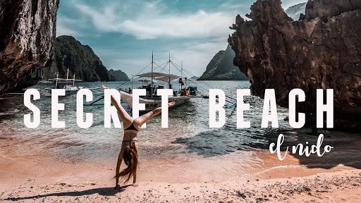 Secret beach El Nido