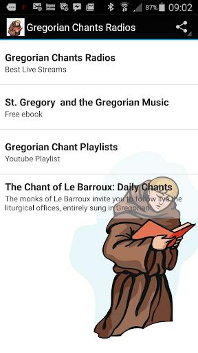 Gregorian Chant Radios
