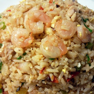 Diet Rice With Shrimps