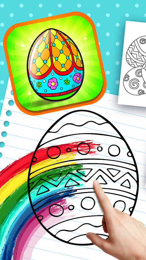 Easter Egg Painting- screenshot