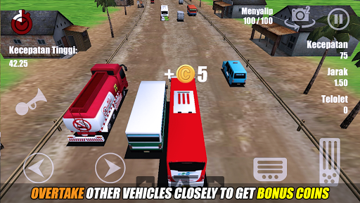 Telolet Bus Driving 3D 1.2.5 screenshots 14