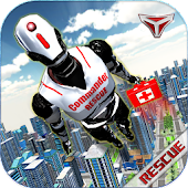 Robot City Rescue Simulator 3D