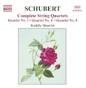 String Quartet No. 1 in G Minor / B-Flat Major, D. 18: II. Menuetto