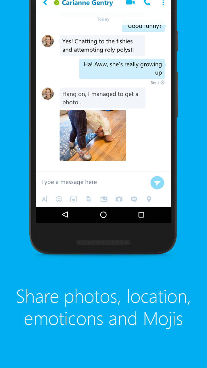 Skype - free IM & video calls screenshot #3