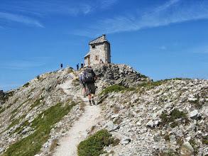 Photo: Cretes des Chambrettes 2582m met ancien poste optique
